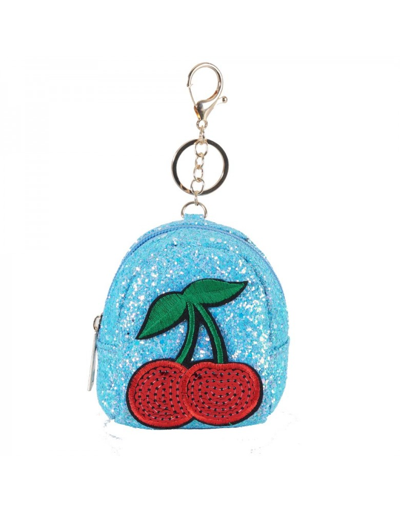 [ BR040-1 ] GTS MODA Red Cherries Coin Wallet
