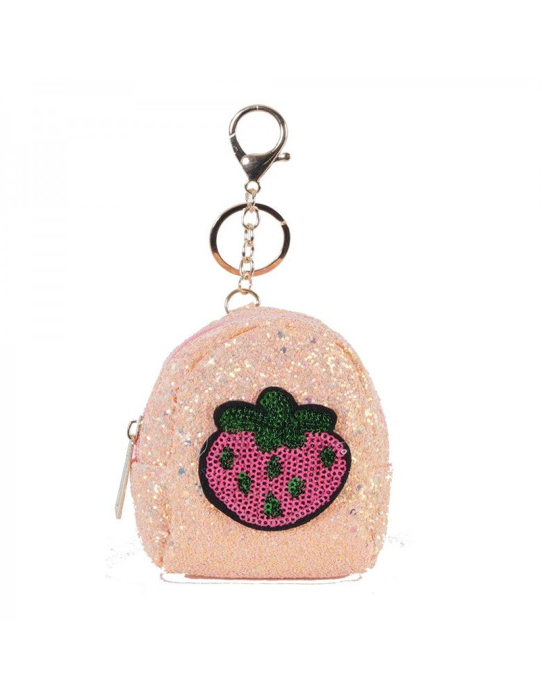 [ BR040-2 ] GTS MODA Pink Strawberry Coin Wallet