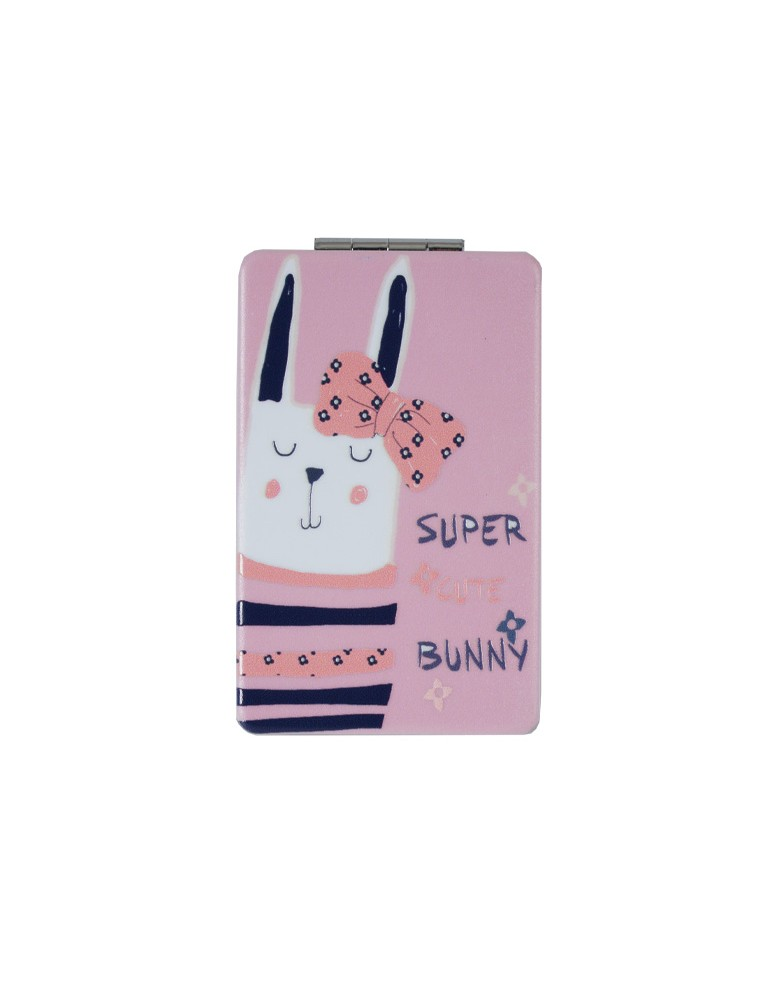 [ MR124-4 ] GTS MODA Super Cute Bunny Mirror - Πολύχρωμο - PVC