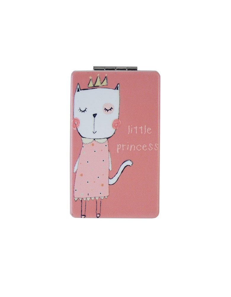 [ MR124-5 ] GTS MODA Little Princess Mirror - Πολύχρωμο - PVC