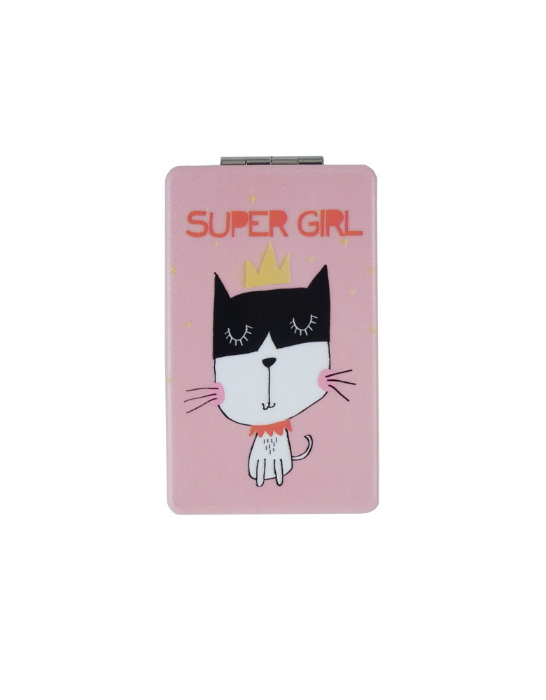 [ MR124-6 ] GTS MODA Super Girl Mirror - Πολύχρωμο - PVC